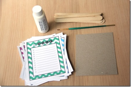 How to make a to-do list pad - Crafty Staci