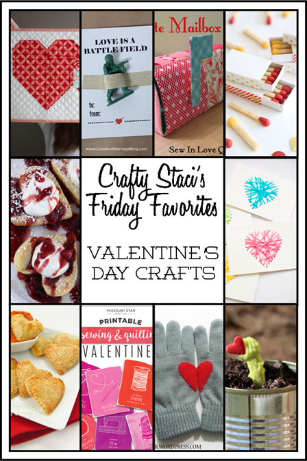 Friday Favorites - Valentine's Day Crafts You Can Make