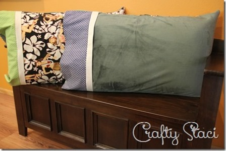 Hot and Cold Pillowcase by Crafty Staci
