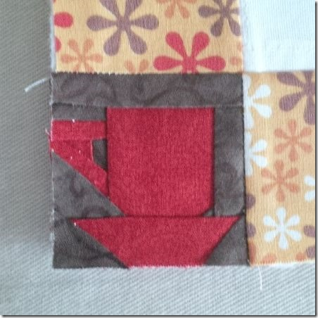 Mary's Coffee Quilt Corners