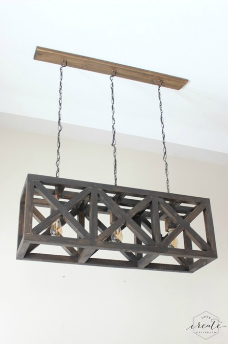 Industrial Pendant Light from Love Create Celebrate