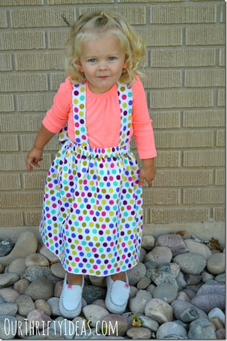 Milk Maid Dress from Our Thrifty Ideas