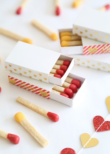 Matchstick Cookies from Etsy Blog