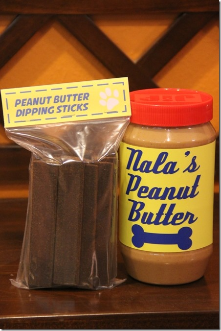 Peanut Butter and Dipping Sticks from Crafty Staci