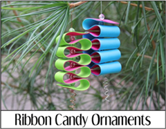 Ribbon Candy Ornaments