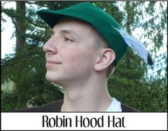 罗宾汉帽子