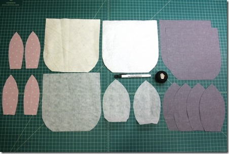 Supplies to make bunny hot pad - Crafty Staci
