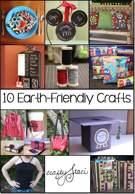来自Crafty Staci的10种对地球友好的工艺品