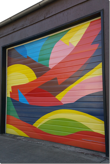 Aquila Glass School Door