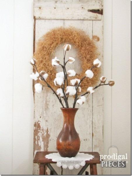 浪荡子的棉花树枝