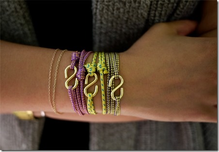 DIY Rope Bracelets from Honestly WTF