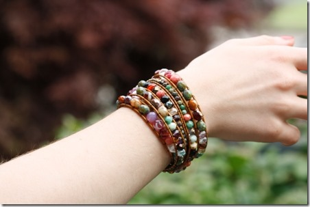 DIY Wrap Bracelet from Eureka Crystal Beads