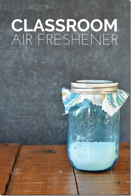 Natural Classroom Air Freshener from Mad in Crafts