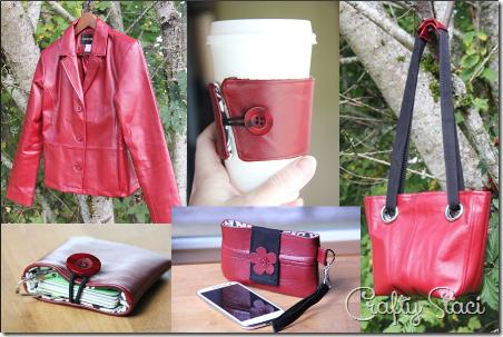 红色皮夹克项目-Crafty Staci