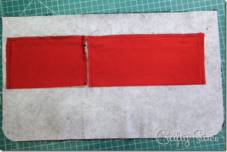 Stitching inner pockets