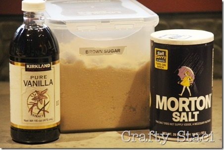 Vanilla Brown Sugar Coffee Syrup - Crafty Staci 2