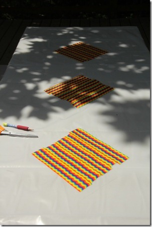 Duct Tape Picnic Table Cloth - Crafty Staci 4