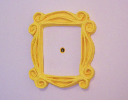 Friends Peephole Frame from Igloo Studio on Instructables
