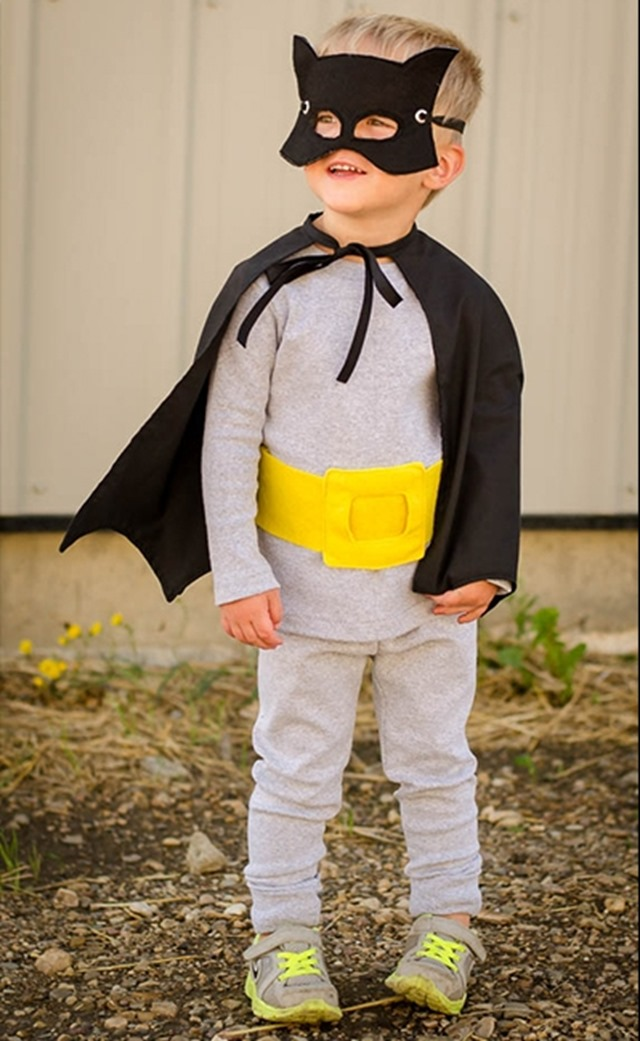 Batman Costume from Fleece Fun