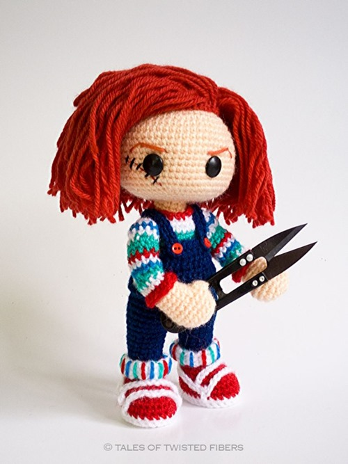 Chucky from Tales of Twisted Fibers