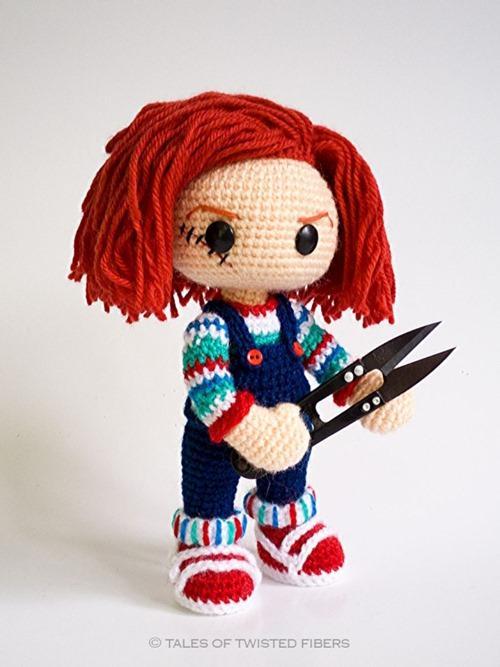 扭曲纤维故事中的Chucky