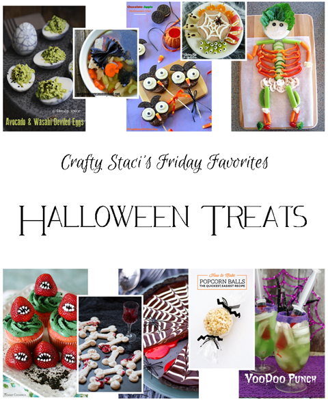 Friday Favorites - Halloween Treats