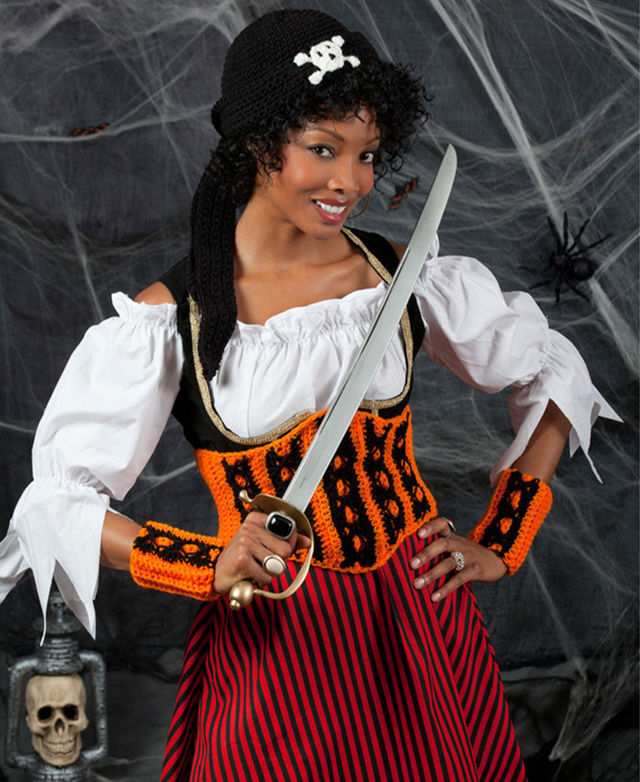 Halloween Wench from Red Heart