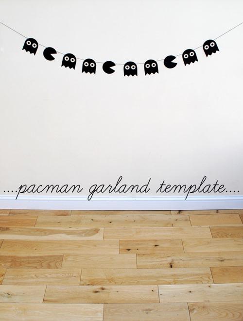 Pacman Halloween Garland from Minieco