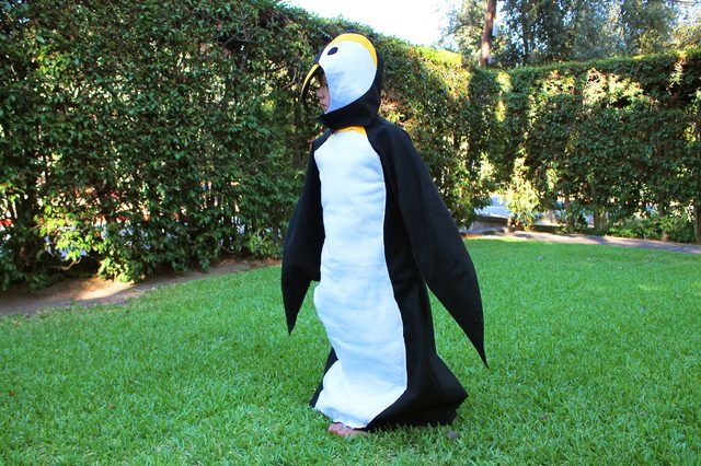 Penguin Costume from eHow