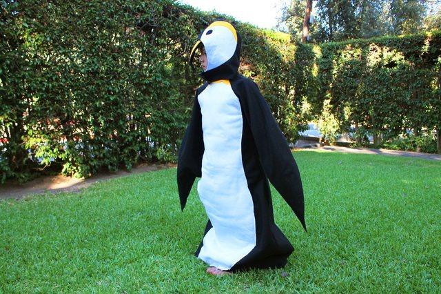来自eHow的企鹅服装
