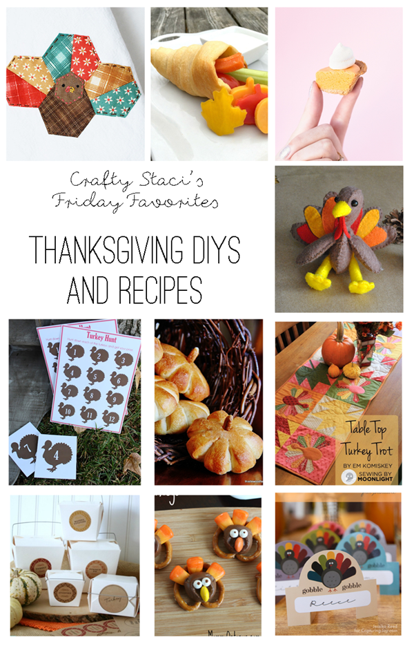 Friday Favorites Thanksgiving DIYS and Recipes