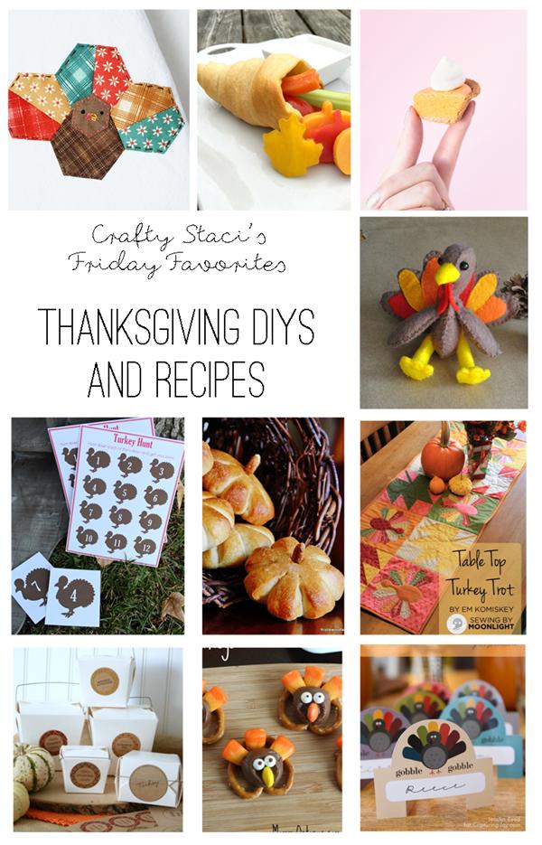 星期五最喜欢的感恩节DIYS和食谱