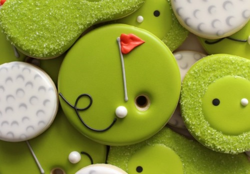 Golf Cookies from Sweet Sugarbelle