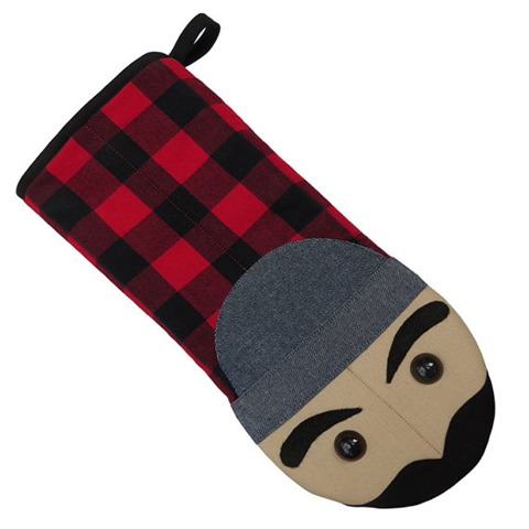 Jack the Lumberjack Oven Mitt from collisionware