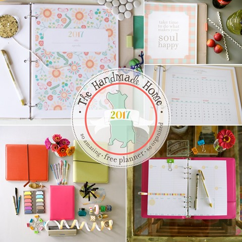 Printable Planner from The Handmade Home