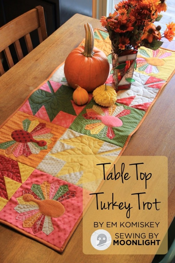 Table Top Turkey Trot Quilt from Moda Bake Shop