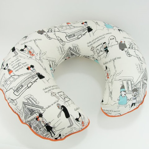 Zombies Boppy Nursing Pillow Cover from MarshMueller