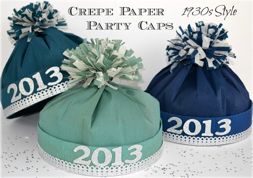 Crepe Paper Party Hat from Jennuine