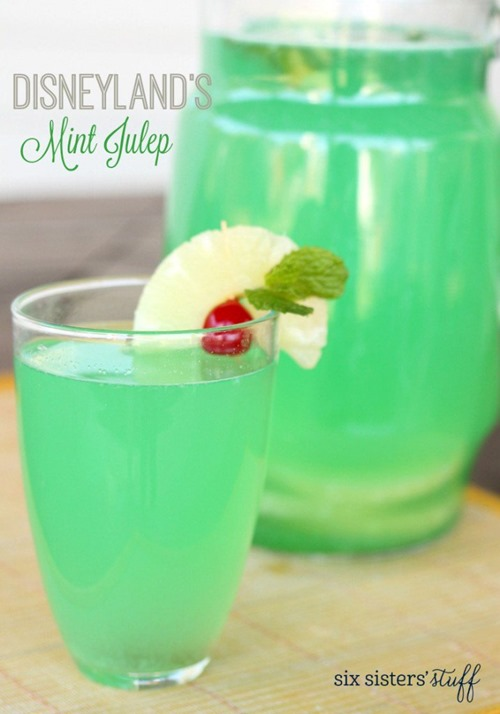 Disneyland Mint Julep from Six Sisters Stuff
