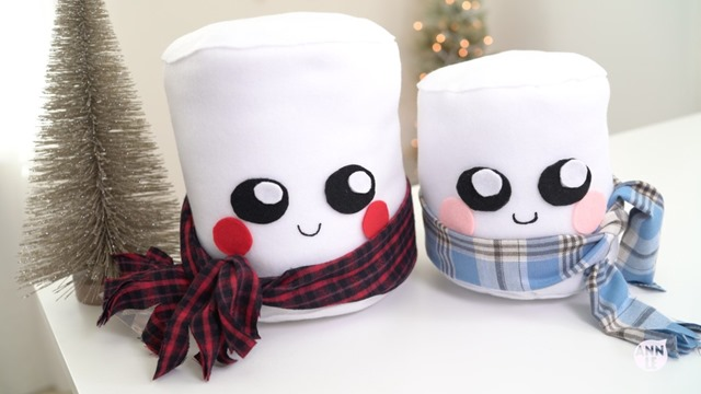 Marshmallow Plushie from Ann Le