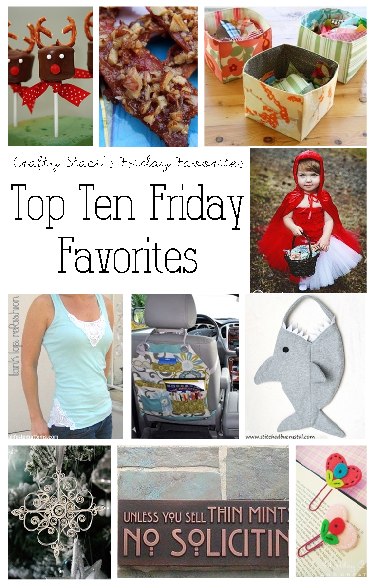 Top Ten Friday Favorites