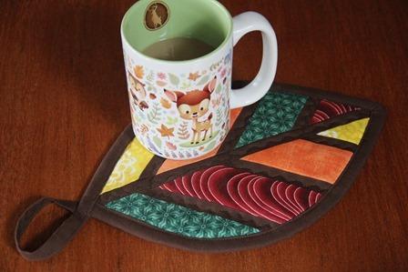 Autumn Leaf Hot Pad by Crafty Staci