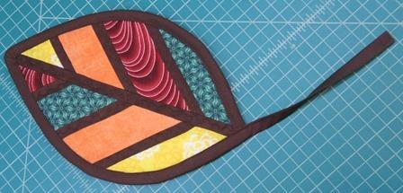 sewn down binding