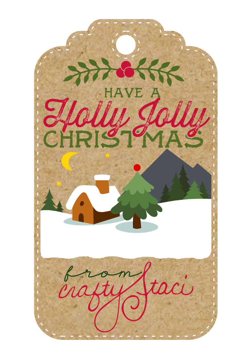 Have a Holly Jolly Christmas from Crafty Staci