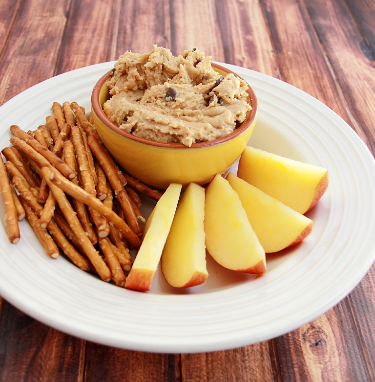 Peanut Butter Cookie Dough Dip from Debi Talks.jpg