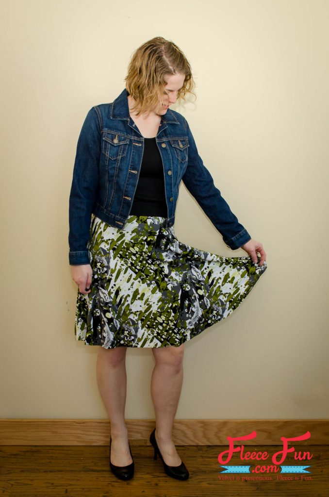 Womens Skater Skirt from Fleece Fun.png