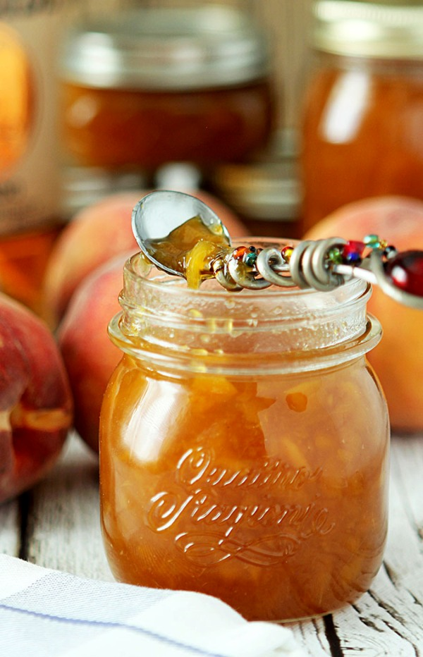Bourbon Peach Jam from Creative Culinary