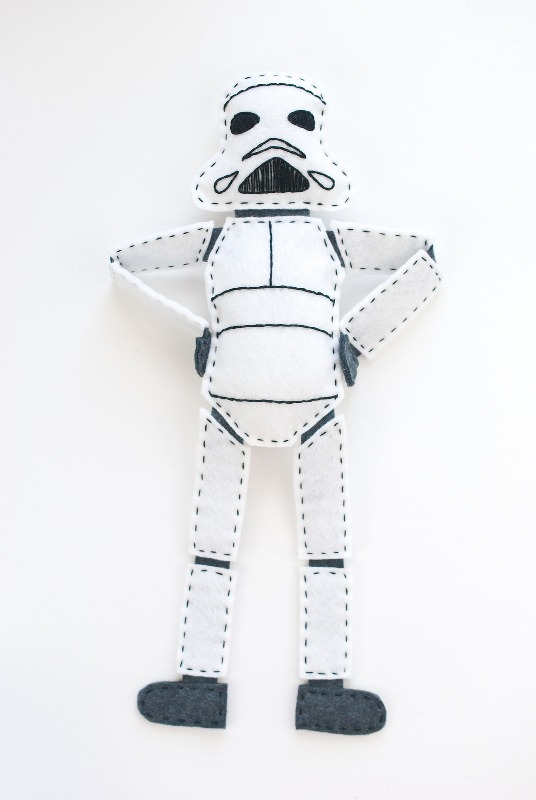 Stormtrooper Doll from Wild Olive