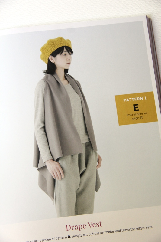 Stylish Wraps - Drape Vest and Beret