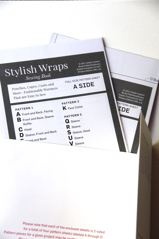 Stylish Wraps - patterns
